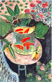 Gold Fish by Henri Matisse.